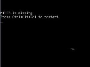 開機提示ntldr is missing的解決方法