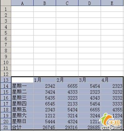 Excel裡面靈活運用右鍵拖移完成非常快的拷貝 三聯