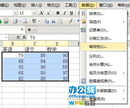 WPS表格輸入錯誤提示設置,確保數據准確性   三聯