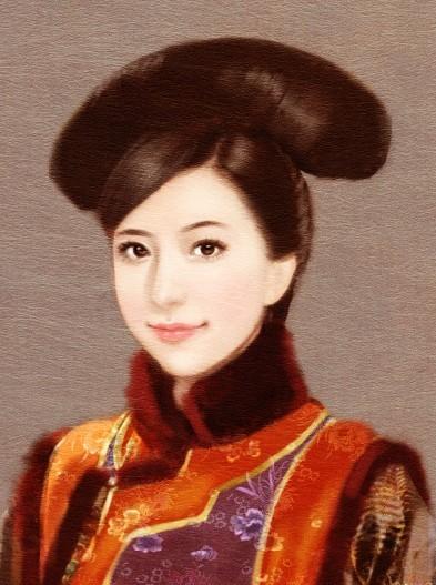 PS給TVB古裝MM照片打造唯美言情風轉手繪教程 三聯教程