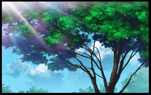 Photoshop鼠繪漂亮的古樹插畫教程 三聯