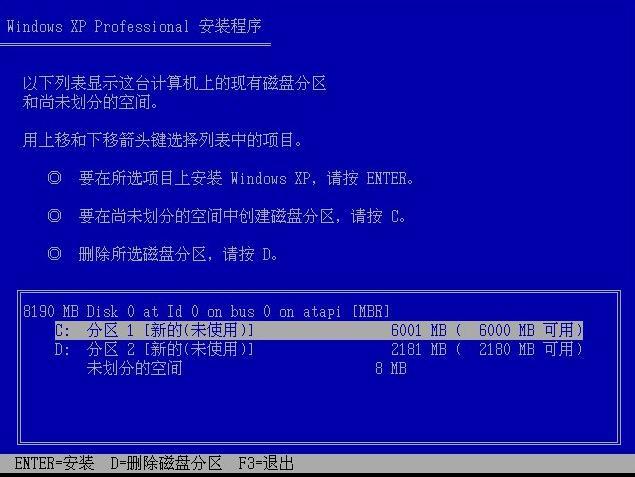官方windows xp professional原版系統裝機教程(4)