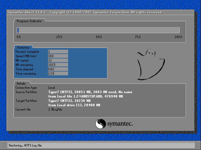 詳解電腦公司WinXP純淨版系統的安裝全過程(6)